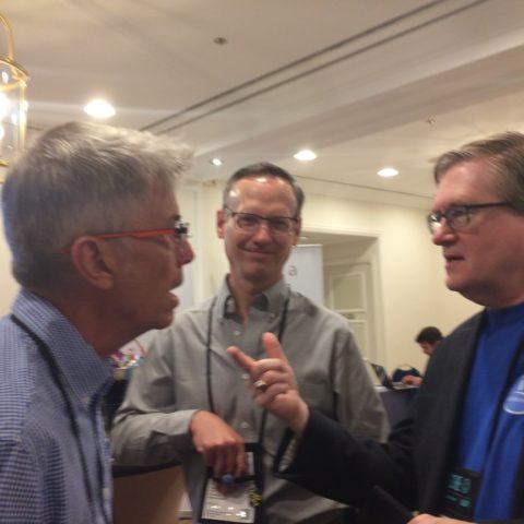 Steve Will et Scott Forstie (DB2 for i Business Architect IBMi) sont intéressés par les expériences clients d'Itheis