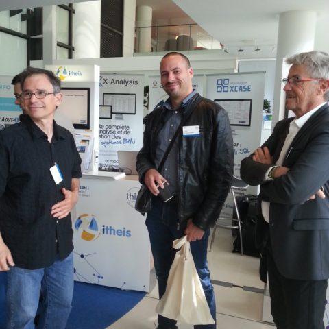 Guillaume Viard In Extenso sur notre stand université IBM i 2018