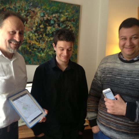 2013 iPad et iPhone pour IBM i avec TREVOR, Arnaud et Stephane