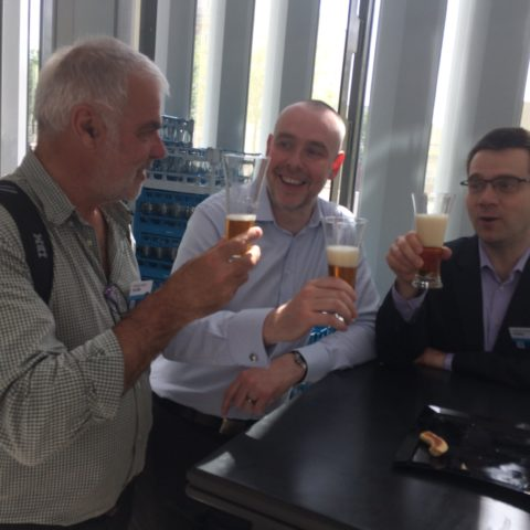 Christian MASSE de Volubis avec Paul et Laurent