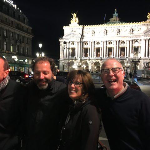 IT Leader Meeting 2018, Patrick, Pascal, Kim et Jonathan de FERSCHE Solutions