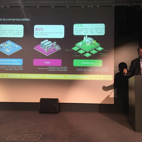 P Bournhonesque, CTO IBM témoigne au IT Leader meeting 6 nov 18