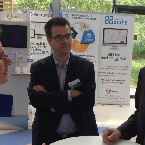 Avec P Bourgeois IBM