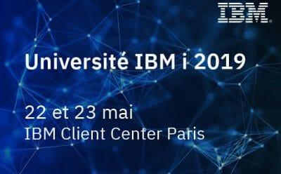 Itheis sera à l'Université IBM i les 22 et 23 mai 2019