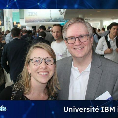 Universités IBM i 2019_ Steve Will ( Chief IBM i Architect Rochester) et Valerie GUYARD Itheis