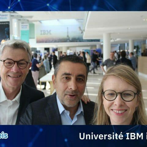 Universités IBM i 2019_ Gilbert MELLUL (Cristal IT), P BLANDIN et V GUYARD (Itheis)