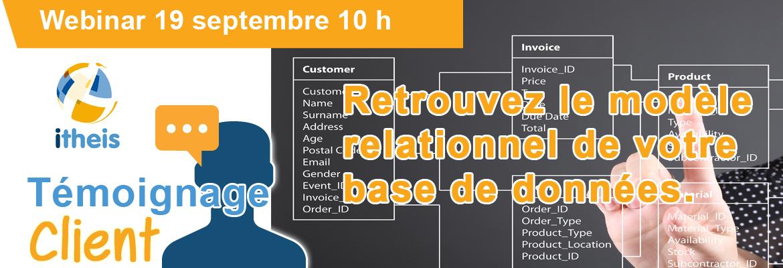 Jeudi de l'IBM i : Témoignage : Retrouvez le modèle relationnel de votre base de données.
