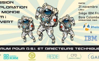 Forum pour DSI le 21/11